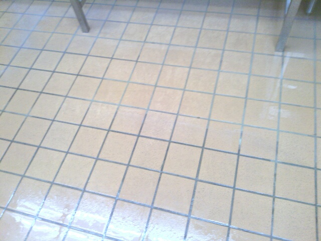 commercial tile floor after billu0027s cleaning service